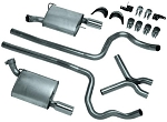 Dual Exhaust Conversion Kits