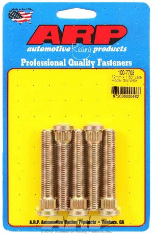 ARP Performance Wheel Studs M12MMx1.5 - Pack of 5