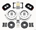Wilwood Superlite 4R Big Front Brake Race Kit 05-14 Mustang