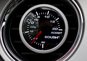 Roush LED Mechanical Vacuum/Boost Gauge