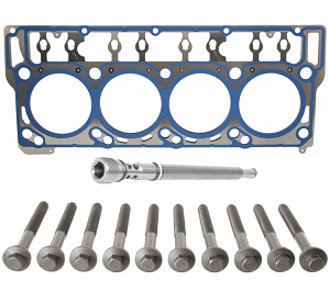 Ford OEM 18mm Headgasket, Standpipe & Headbolts Kit