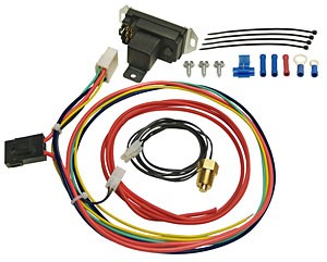 Derale Adjustable Thread-In Thermostat Kit