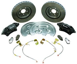 "Ford Performance 2005-2014 Mustang 14"" Brembo Brake SVT Upgrade Kit"