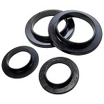 BBK Gripp Polyurethane Rear Coil Spring Isolator Bushings (79-04)