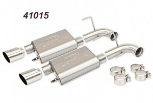 BBK 2011-14 Mustang GT Varitube Axleback Exhaust Kit