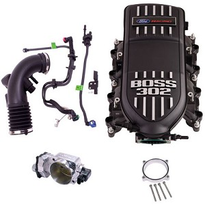 Ford Racing 5.0L Coyote Boss Intake & Throttle Body Power Up Kit