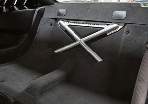 2005-2014 Mustang Rear Seat Delete Kit
