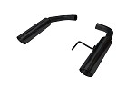 Pypes 2015-2016 Mustang GT Black Pype Bomb Axle Back Exhaust