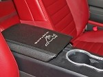 2005-09 Mustang Arm Rest Cover w/Horse