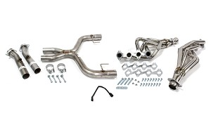 Pypes 05-10 Mustang GT Long Tube Headers with X-Pipe